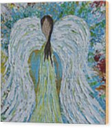 Guardian Angel V Wood Print