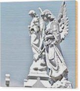 Guardian Angels 2 Wood Print