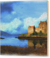 Guardian Of The Loch Wood Print