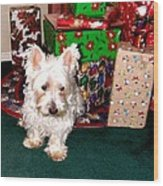 Guarding Christmas Wood Print