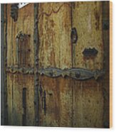 Guatemala Door 2 Wood Print