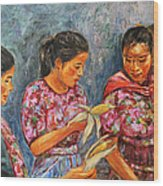 Guatemala Impression IIi Wood Print