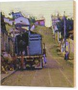 Guatemalan Street Truck Wood Print