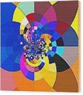 Guematria 626 Wood Print