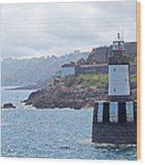 Guernsey Lighthouse Wood Print