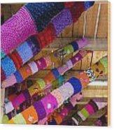 Guerrilla Knitting Wood Print