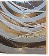 Guggenheim Gutai Wood Print by Christine Burdine