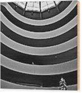 Guggenheim Museum - Nyc Wood Print