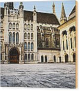 Guildhall Building And Art Gallery Wood Print by Elena Elisseeva