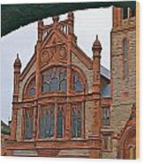 Guildhall In Londonderry Northern Ireland Wood Print