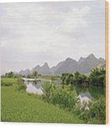 Guilin China Wood Print