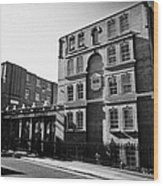 guinness trust buildings in snowsfields southwark London England UK Wood Print