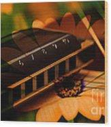 Guitar Dream Wood Print