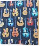 Guitar Heaven Wood Print