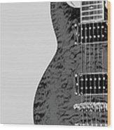 Guitar Pic 2 Wood Print