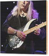 Guitarist Uli Jon Roth Wood Print