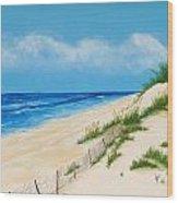 Gulf Coast II Wood Print
