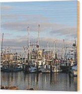 Gulfport Marine Wood Print