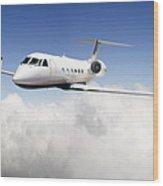 Gulfstream G-450 Wood Print