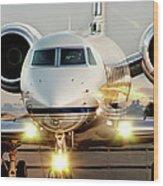 Gulfstream G550 Wood Print