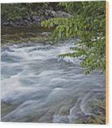 Gull River Rapids Wood Print
