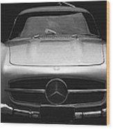 Gullwing Mercedes Wood Print