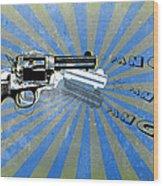Gun 17 Wood Print