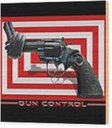 Gun Control Wood Print