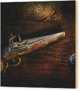 Gun - Pistol - Romance Of Pirateering Wood Print