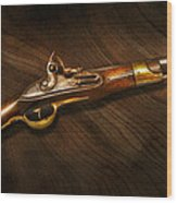 Gun - Pistols At Dawn Wood Print