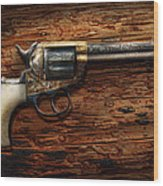 Gun - Police - True Grit Wood Print