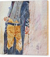 Gunfighter Wood Print