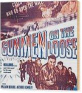 Gunmen On The Loose, Us Poster, William Wood Print