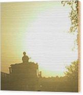 Guntruck At Sunset Wood Print by Bob Weibler