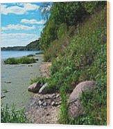 Guogu Mound Wood Print