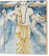 Guru Jupiter Wood Print