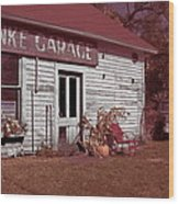 Gus Klenke Garage Wood Print