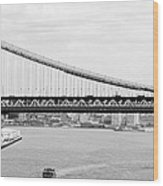 Manhattan Bridge Span Wood Print