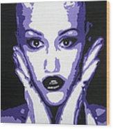 Gwen Stefani Wood Print by Venus