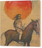 Gypsi Indian Wood Print