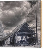 Gypsy Bay Road Lumber Mill 3 Wood Print
