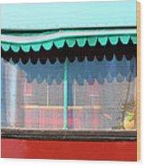 Gypsy Caravan Palm Springs Wood Print