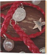 Gypsy Coins Bracelet Photograph Wood Print