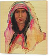 Gypsy Girl Wood Print
