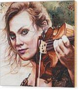 Gypsy In My Soul Wood Print