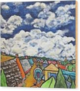 Gypsy Pilgramage Provence Wood Print by Chaline Ouellet