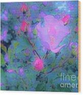Gypsy Rose - Flora - Garden Wood Print