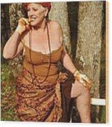 Gypsy Spice Wood Print