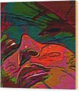 H3ad Sh0ts 14 Wood Print