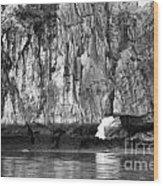 Ha Long Bay Rock I Wood Print